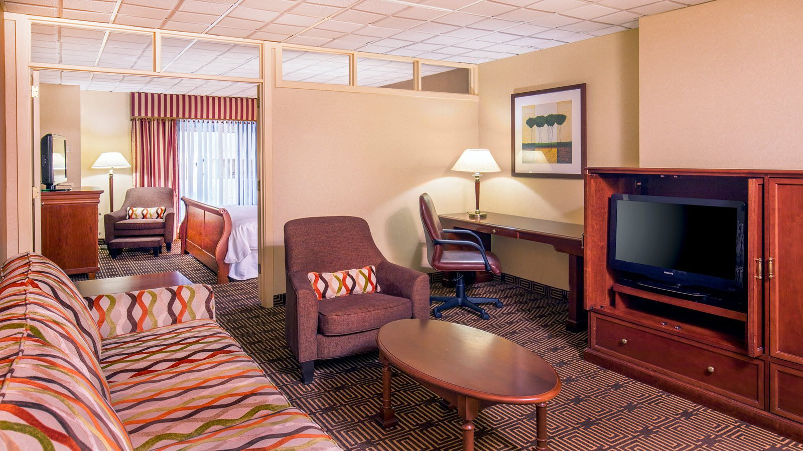Sheraton Springfield Monarch Place Hotel Extended Stay Suite